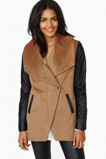 High Profile Coat in What's New at Nasty Gal